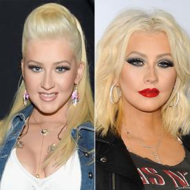 Christina Aguilera Joins the Long Bob Trend