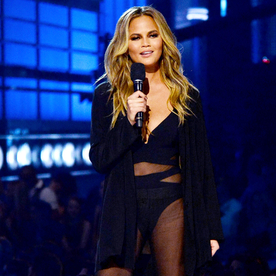 Chrissy Teigen On Her Billboard Music Awards Essentials: Sheer Outfits and Boozy Popsicles