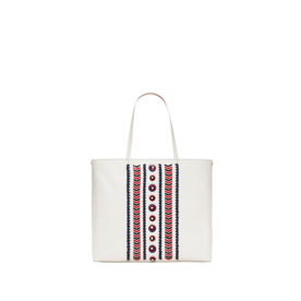 <p>Embellished Stitch Tote</p>