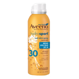 Aveeno Wet Skin Spray Sunscreen