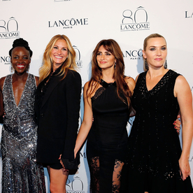 Julia Roberts, Kate Winslet, Lupita Nyong'o, and Penelope Cruz Celebrate 80 Years of Lancôme in Paris