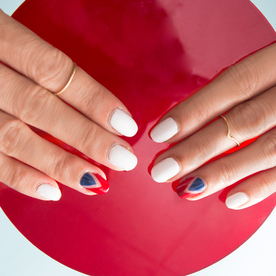 Nail This Fourth of July Manicure with the Most Flattering Red, White, and Blue Polishes for You