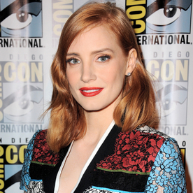 Why Jessica Chastain Would Pick Princess Leia's Bikini Outfit as Her Comic-Con Costume