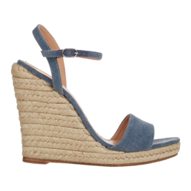 Denim+Wedge+Espadrille+Sandals