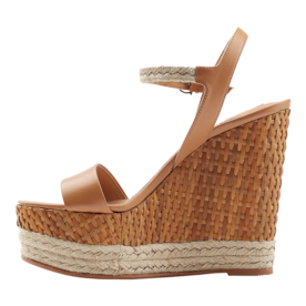 Leather+Espadrille+Wedges