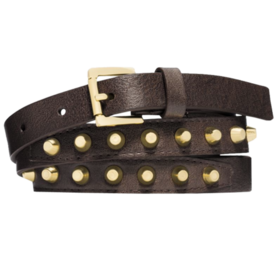 Michael Kors Studded Leather Belt