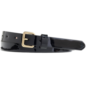 J. Crew Patent Leather Belt