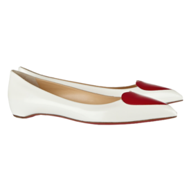 Christian Louboutin Point-Toe Flats