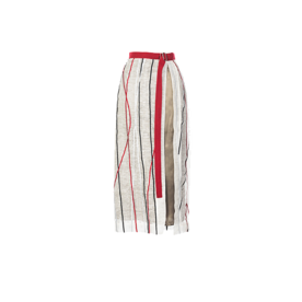 Misha Nonoo Embroidered Edie Wrap Skirt