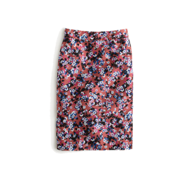 J. Crew Collection Pencil Skirt in Autumn Floral