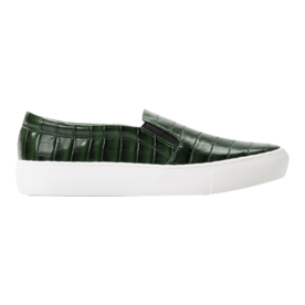 <p>Snake-effect sneakers</p>