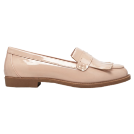 Forever 21 Fringed Faux Patent Loafers