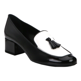 Saint Laurent Patent Leather Tassel Loafers