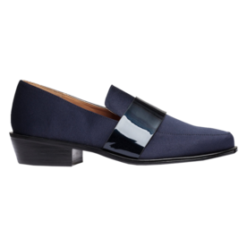 H&M Satin Loafers