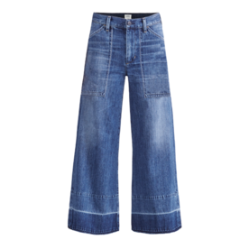 Citizens of Humanity Cropped Wide Leg Jeans