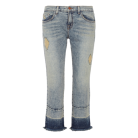 cropped+distressed+mid-rise+flared+jeans
