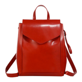 red leather backpack purse Backpack Tools
