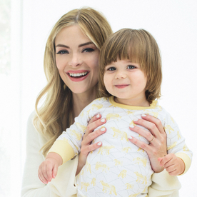 "Peek Inside Jaime King's Minimalist Nursery: ""Kids Don't Need A Million Things To Have Fun"""