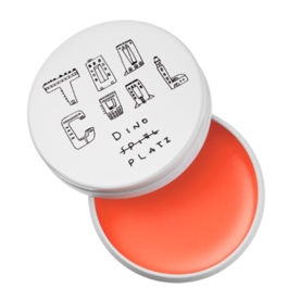 <p>Too Cool for School Dinoplatz Lip Balm in Peach Melba</p>