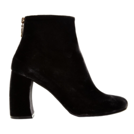 Curved+block-heel+ankle+boots