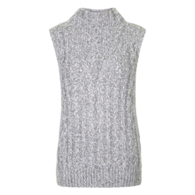 <p>Cable Knit Tabard</p>