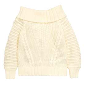 <p>Off-the-Shoulder Sweater</p>
