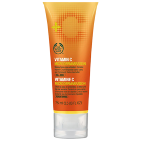 <p>The Body Shop Vitamin C Microdermabrasion</p>