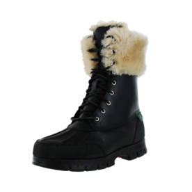 Ralph Lauren Shearling lined snow boots