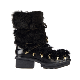 3.1 Phillip Lim Leather and shearling boots