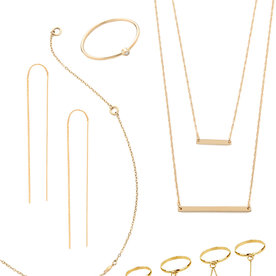 Delicate Gold Jewelry To Wear With Everyday Outfits