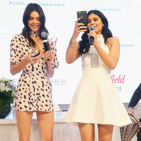 Kendall and Kylie Jenner Look Hotter Than Ever While Wearing Their New Clothing Collaboration