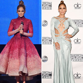 Jennifer Lopez's 10 Stunning Ensembles from the AMAs