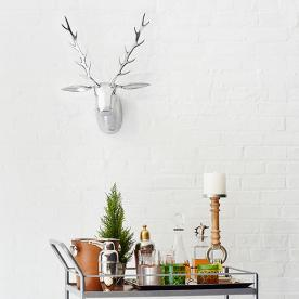 How to Stock Your Bar Cart (Plus, a Pomegranate Apple Punch Recipe!)