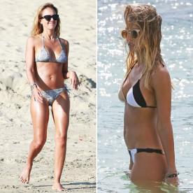Jessica Alba Shows Off Her Enviable Bod in Two Bikinis