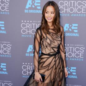 Whose Critics' Choice Awards Dress Does Jamie Chung Want to Borrow for Her Wedding?