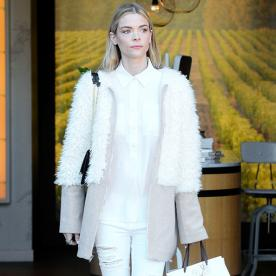 Jaime King Shows Us How to Do Winter White the Right Way