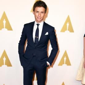 There Was a Lot of Love for Eddie Redmayne at the InStyle BAFTA Party