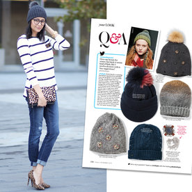 #InspiredByInStyle: Reader of the Week Lilly E. Beltran Embraces the Beanie