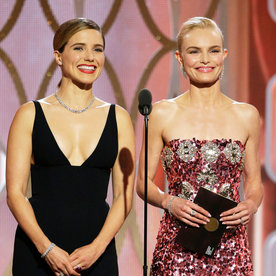 Kate Bosworth Spills About Her Girl Power Moment with Sophia Bush Backstage at the Golden Globes