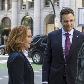 Whos New On X Files This Season InStylecom