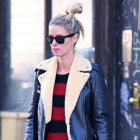 Nicky Hilton Wears Two Winter-Chic Maternity Looks in One Day