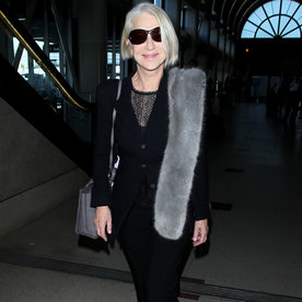 Helen Mirren Proves No One Can Rock a Fur Stole Like She Does