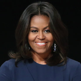 Wondrous Michelle Obama39S Changing Looks Instyle Com Short Hairstyles For Black Women Fulllsitofus