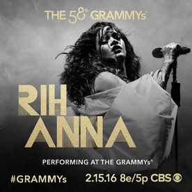 It's Official! Rihanna Will Be Performing at the 2016 Grammys