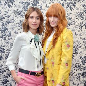 """The Secret to Florence Welch's Killer Style: """"Psychedelic Granny Influences"""""""