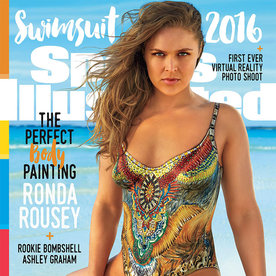 Ronda Rousey Is a Knock-Out on the Sports Illustrated Swimsuit Cover