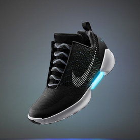 The Future Is Now—Nike Introduces Self-Lacing Shoes