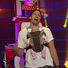Ashton Kutcher Formed A Dad Band With James Corden And
