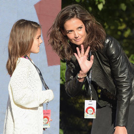 Katie Holmes and Suri Cruise Had the Best Time at Broadway's School of Rock