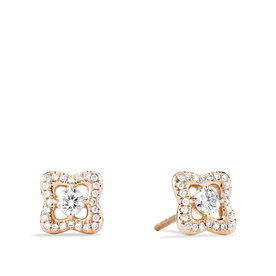 David+Yurman+Venetian+Quatrefoil%C2%AE+Earrings+with+Diamonds+in+18k+Rose+Gold
